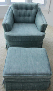 country seat upholsetery