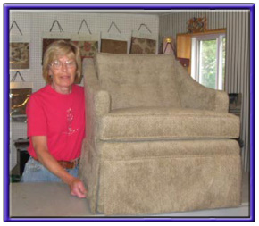 Yvonne and recovered chair, Furniture upholstery london ontario furniture refinishing, upholstery toronto ontario upholsetery, furniture refinishing toronto ontario, Country Seat Upholstery Studio, furniture refishing london ontario, st thomas, port stanley, windsor furniture repair, london ontario furniture repair and refinishing, furniture upholstery london ontario furniture upholstery, furniture refinishing st thomas ontario, dutton dunwich furniture upholstery, london upholstery, yvonne brooks furniture repair, country Seat upholstery studio wallactown ontario